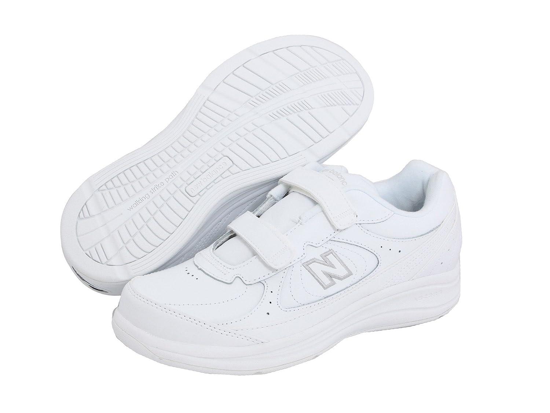(ニューバランス) New Balance メンズランニングシューズ?スニーカー?靴 WW577 Hook and Loop White ホワイト 10.5 (28.5cm) D