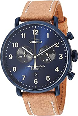 Midnight Blue/Natural Leather Strap
