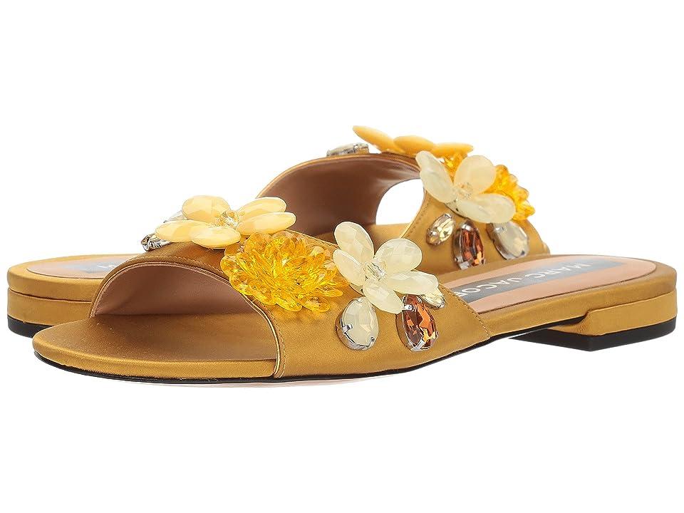 Marc Jacobs Clara Embellished Slide (Gold) Women