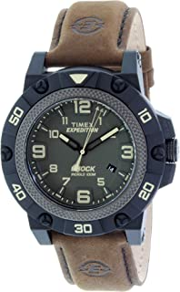 Timex Expedition Field Shock Watch - Black/Green/Brown (56652)