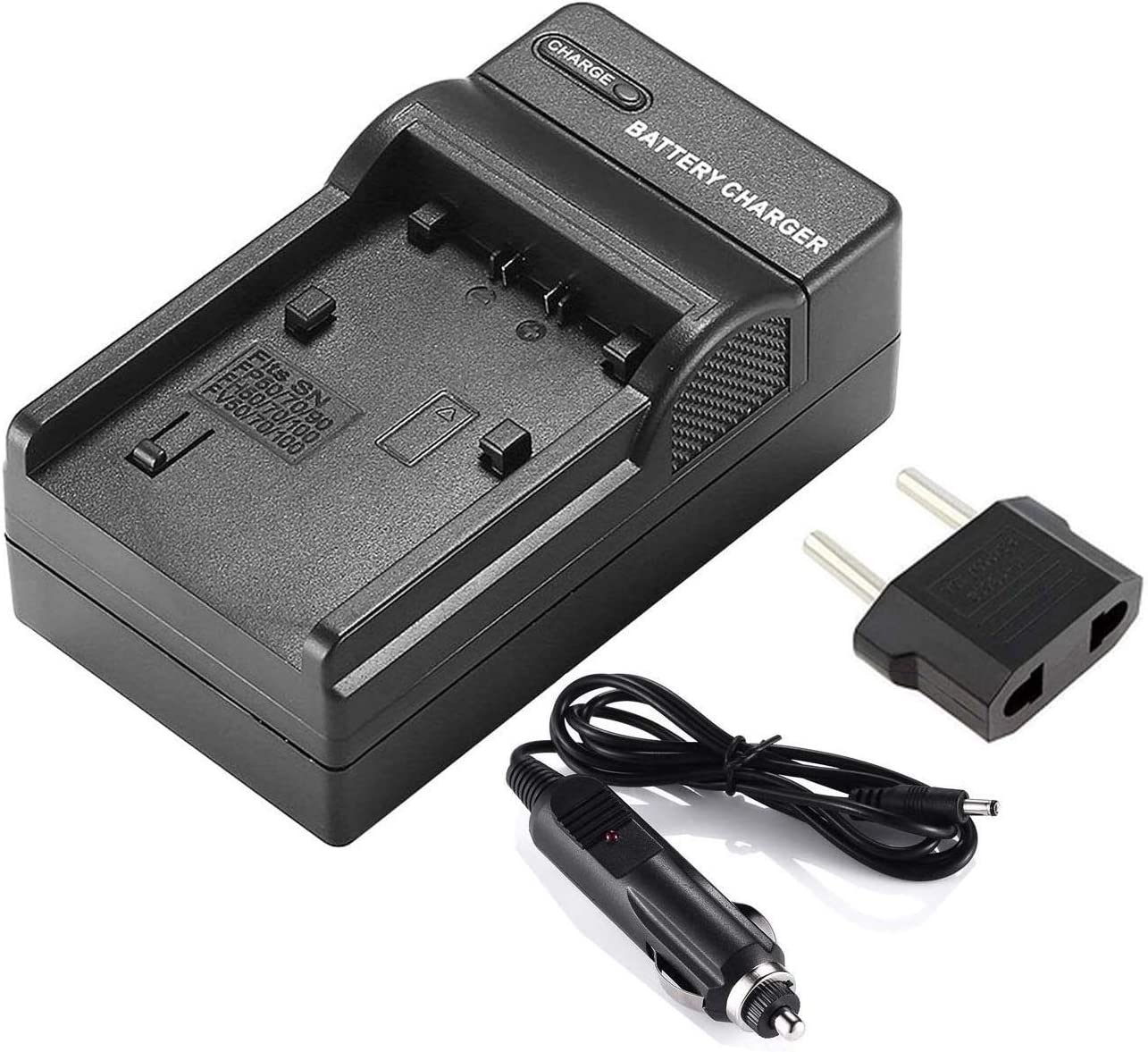 DCR-SX21 DCR-SX65 DCR-SX34 DCR-SX44 DCR-SX85 Handycam Camcorder DCR-SX45 DCR-SX22 LCD Quick Battery Charger for Sony DCR-SX20