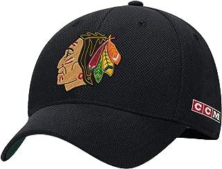 CCM Chicago Blackhawks Original Six Stretch Fit Hat