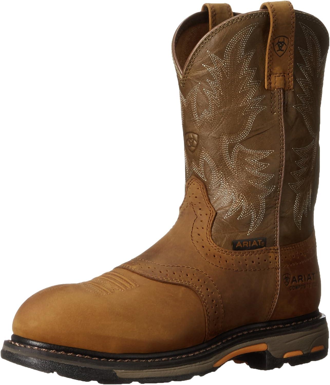 Ariat Men's Workhog Pull-on Composite Toe Work Boot B002753I3C  | Hohe Qualität und Wirtschaftlichkeit