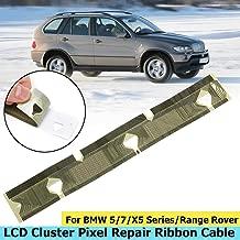 17cm2.5cm Car LCD Pixel Repair Ribbon Cables for BMW E38 E39 E53 X5 Range Rover 530 528 540 M5 (E39) 1997-2003 7 Series