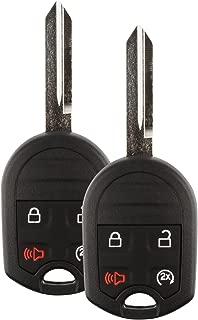 For 11-15 Ford Explorer 11-16 F-Series 11-14 Lincoln Mark LT 11-16 Navigator Keyless Entry Remote Key Fob Uncut 4btn W/Remote Start - 2 PACK