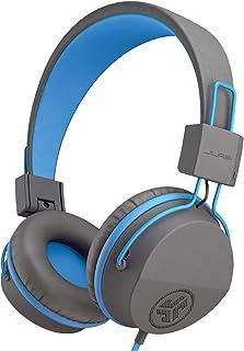 JLab Audio Kids hoofdtelefoon, JBuddies hoofdtelefoon voor kinderen, over oor, bedraad en kindveilig met volumebegrenzer, ...