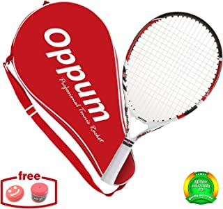 OPPUM US Open Junior Tennis Racket for Kids Children Toddlers, Coach Recommended Racquet, Include