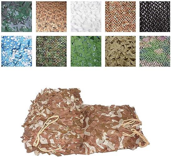 Filet de camouflage Tissu Oxford de tente de fabrication d'auvents de camouflage de filet de soleil d'ombrage, approprié à la chasse de déguiseHommest de peau tirant le grand jardin 3x5m, noir Décoration