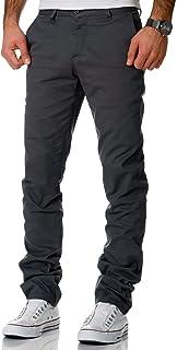 Amaci&Sons 7009-10 Men's Regular Slim Stretch Chino Trousers