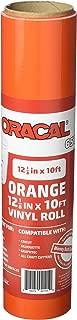 orange oracal 651