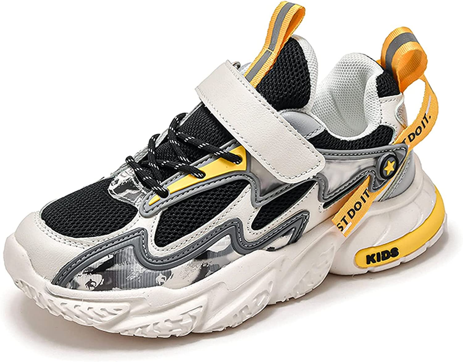 Narstin All-Match Children's Travel Shoes Boys' Fashion Sports Shoes Outdoor Durable Running Shoes Training Shoes