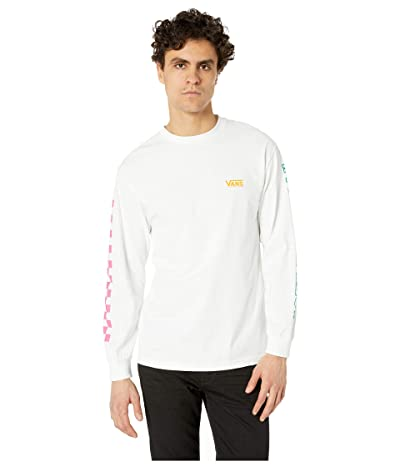 Vans Checkwork Long Sleeve T-Shirt (White) Men