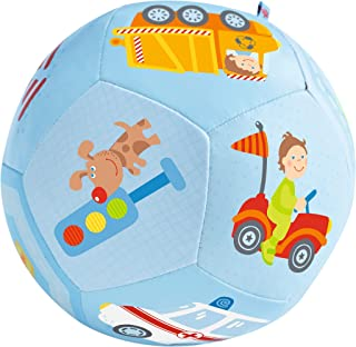 "HABA Baby Ball Vehicles 5.5"" for Babies 6 Months and Up"
