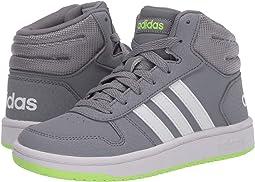 Grey/Footwear White/Signal Green