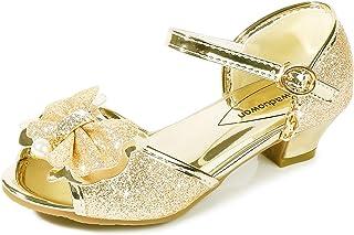 3c97c6405 Osinnme Toddler Little Big Kid Girls Wedding Sandals