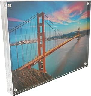 Nicom Clear Acrylic Magnet Photo Frame Block (6x8)