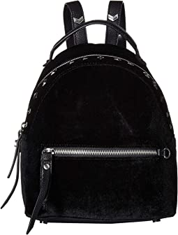Sammi Studded Velvet Mini Backpack