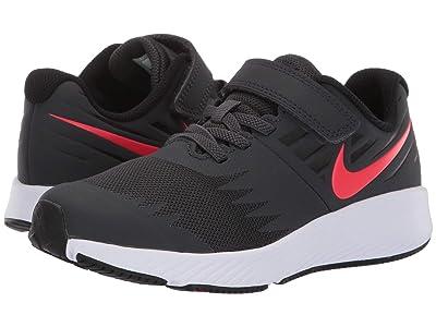 Nike Kids Star Runner (Little Kid) (Black/Metallic Silver/Splash) Boys Shoes