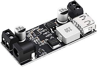12v to 5v 5A Converter, DROK Buck Regulator DC 9V-36V Step Down to DC 5V-5.3V Voltage Power Inverter Module 36V 24V 12 V 9...