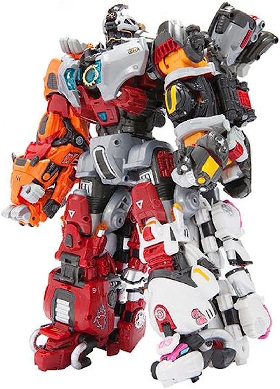 YOUNG TOYS Biklonz Infinity Transformer Robot Toy Action Figure (Ursa+Scorpio+Leo+Taurus+Aries)
