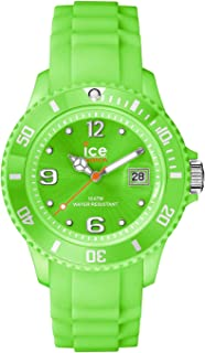 Ice-Watch Unisex SI.GN.U.S.09 Sili Collection Green Plastic and Silicone Watch