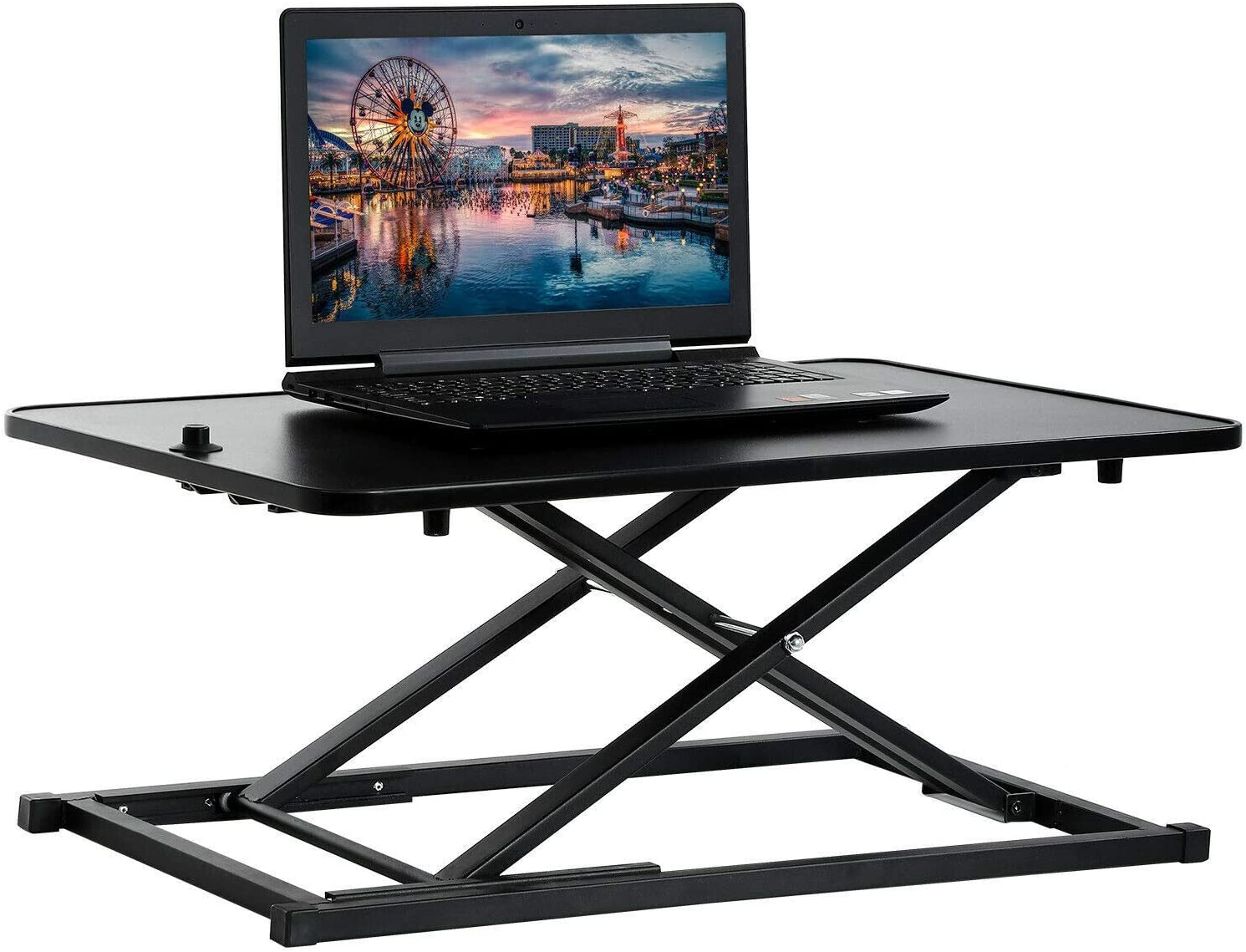 YIE Standing 1 year warranty Desk Computer Workstation Ad Office Max 82% OFF Height Standard
