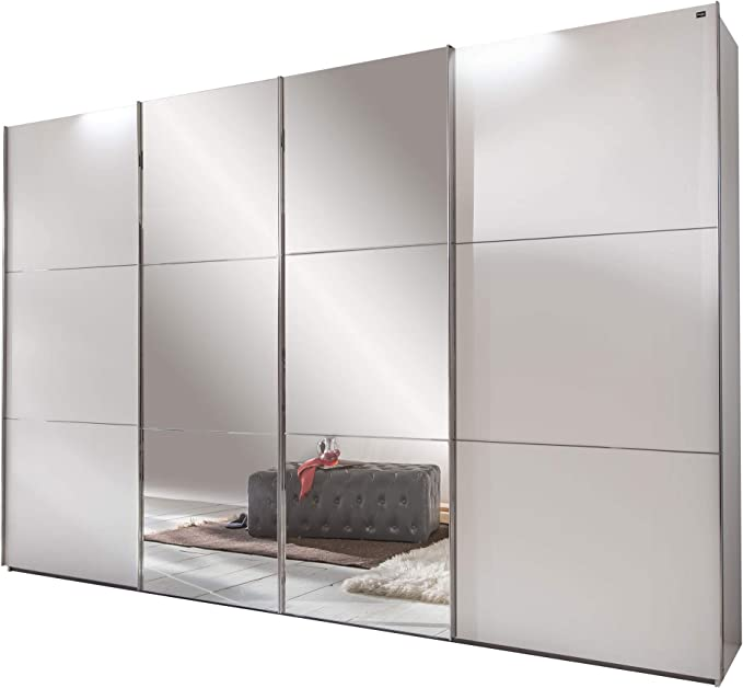 3 Meter Kleiderschränke mit Schiebetüren und Spiegel