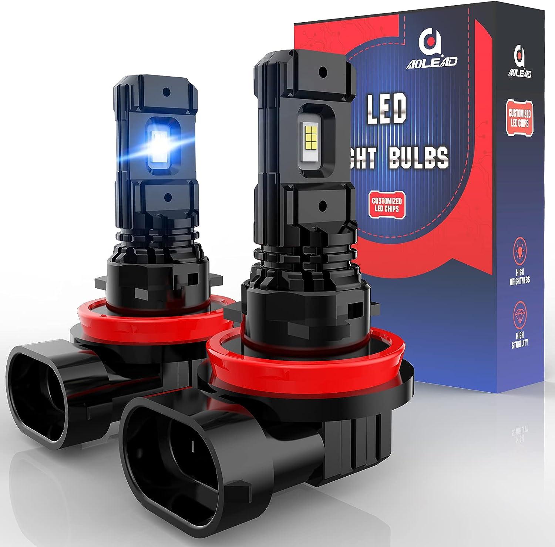 AOLEAD H11 LED Limited time cheap sale Fog Light Bulbs H8 H9 Replacement 5000 Wholesale H16 L