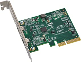 Sonnet Allegro USB 3.1, Two-Port USB-C 10Gb PCIe Card (USB3C-2PM-E)