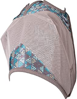 Cashel Crusader Patterned Fly Mask Teal Tribal Arabian Standard