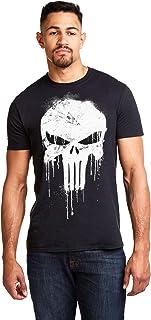 Marvel Avengers Punisher Skull Camiseta para Hombre