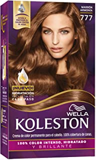 Wella Koleston Coloracion Permanente en Crema, 777 Marrón Armonía