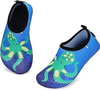 katliu Zapatos para Niño Niña Zapatos de Playa Bebe Zapatillas de Piscina Escarpines Calzado para Agua