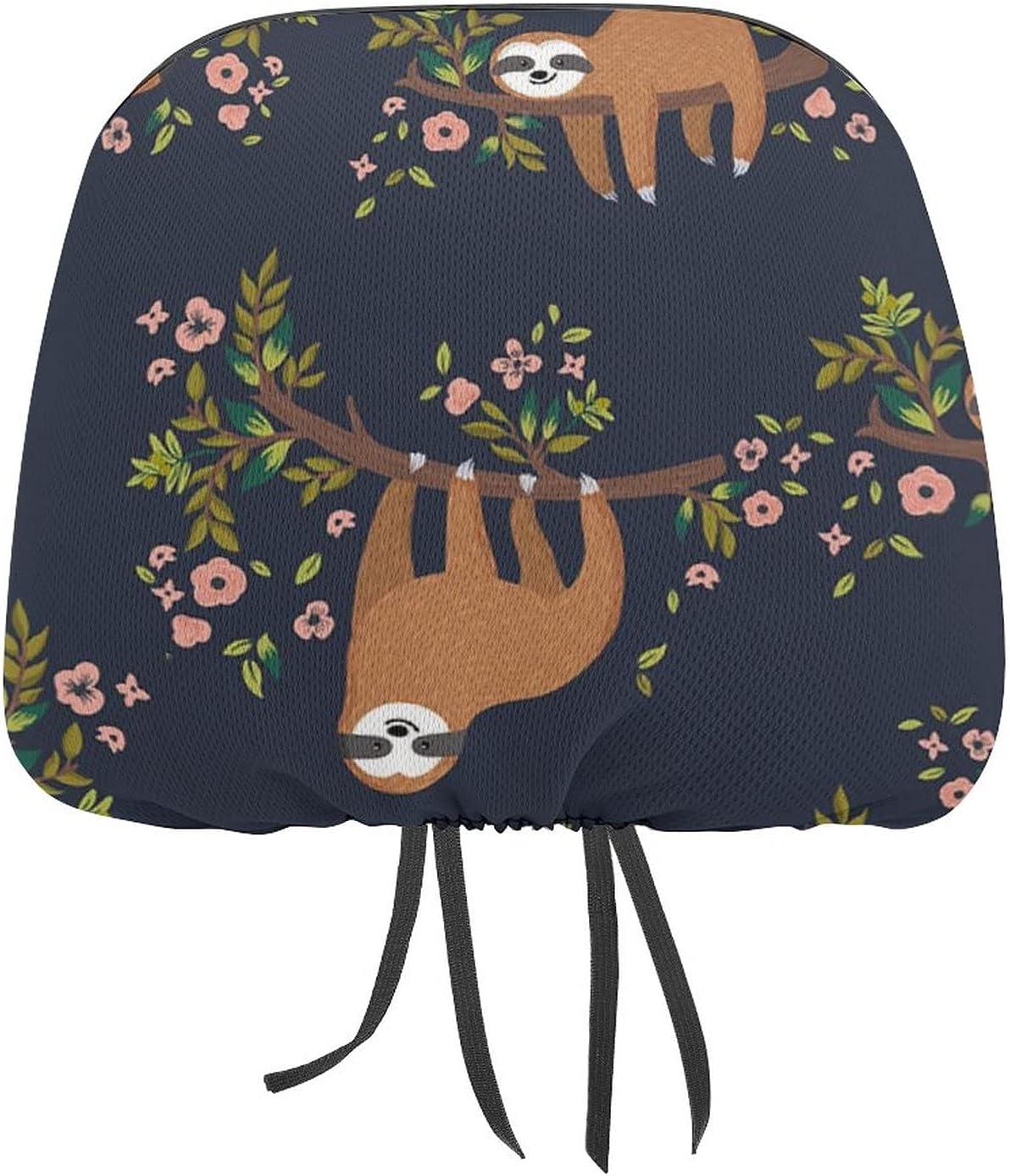 Auto Car Seat Headrest Cover Men Al discount sold out. Cute Rest Women Sloth Head