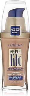 L'OrÃal Paris Visible Lift Serum Absolute Foundation, Creamy Natural, 1 Fl Oz (1 Count)