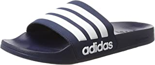 Adidas ADILETTE SHOWER, Men's Slippers, White (Collegiate Navy/Ftwr White/Collegiate Navy), 11 UK (46 EU)