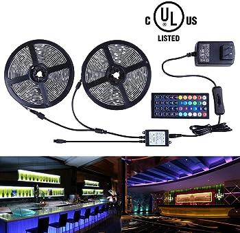 Miheal 32.8 Ft 300 LEDs Waterproof Strip Lights Kit