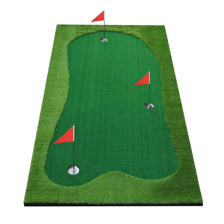 BOBURACN Mat Golf Training Professional Challenging