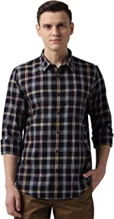 Peter England Men's Slim fit Casual Shirt