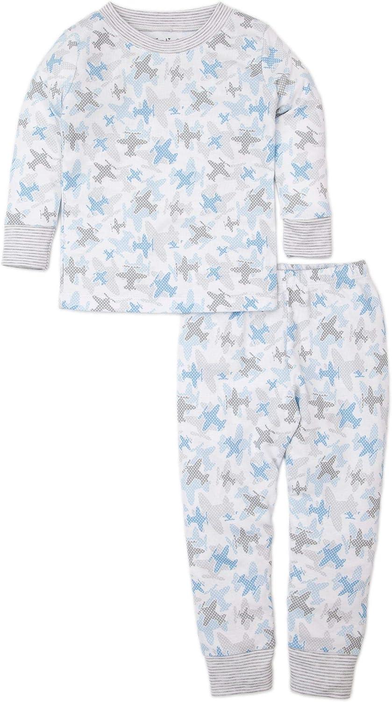 Kissy Kissy Boys Toddler PJs Camo Planes Print Long Pajamas Set