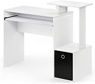 Best white computer desk with shelves Reviews