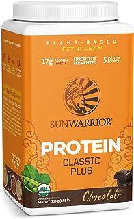 Sunwarrior Classic Plus Protein, 750g Dose -Bio- (Chocolate)