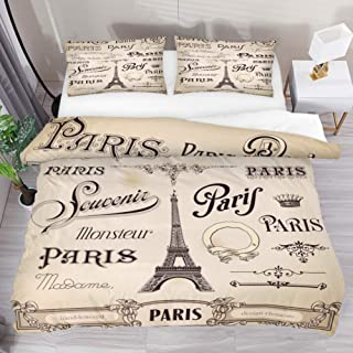 Best king size paris comforter Reviews