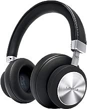 LINNER Noise Cancelling Headphones Large Ears, Wireless Noise Cancelling Headphones Bluetooth, Best Noise Cancelling Headphones with Microphone NC90