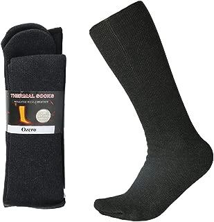 Winter Thermal Socks with Heel Free Design, Knee High Tube Boot Socks for Men and Women