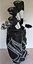 Callaway Mens Complete Golf Set - Clubs Driver, Fairway Wood, Hybrid, Irons, Putter Stand Bag Reg Flex