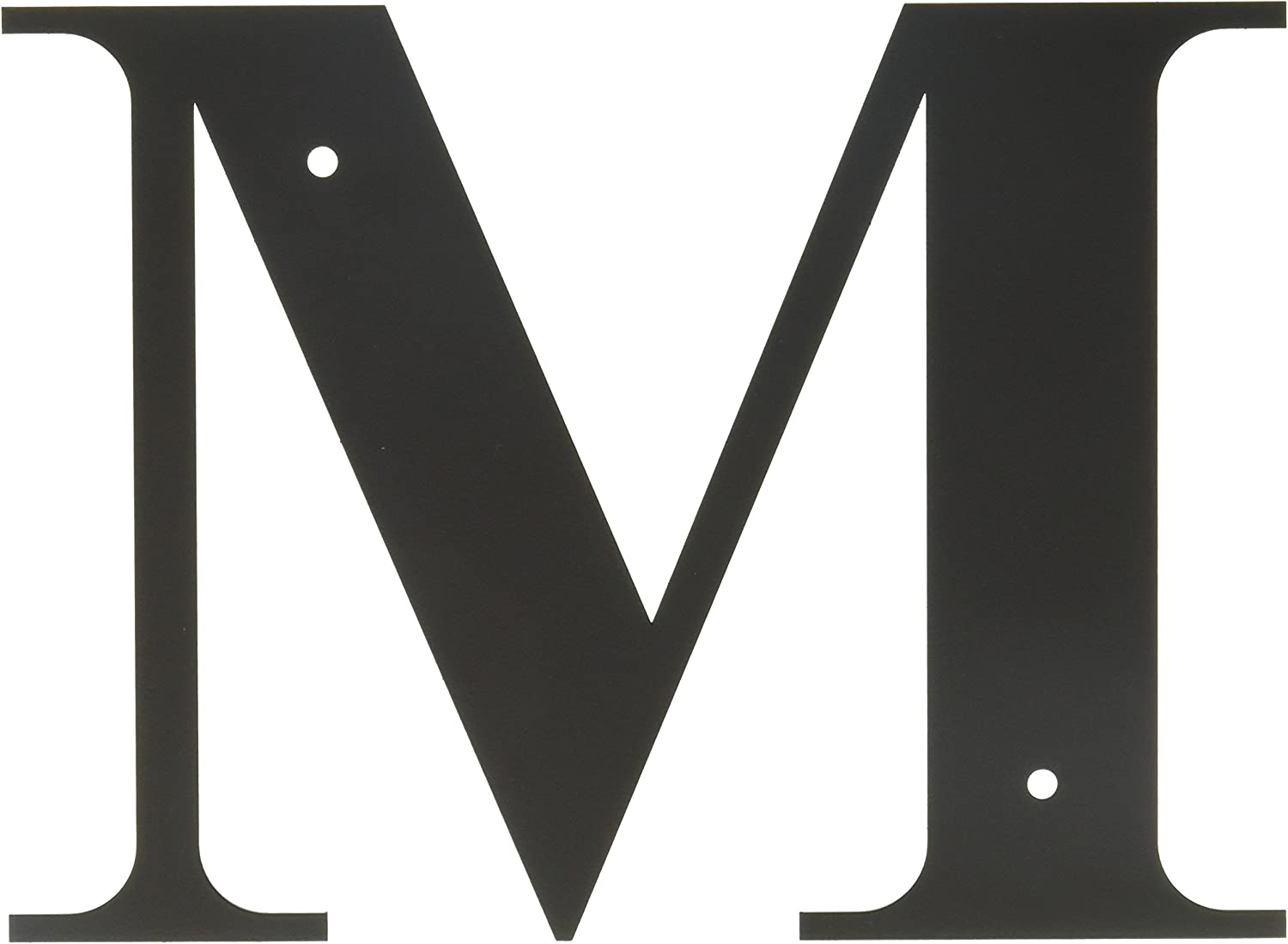 8.25 Inch Letter M Small