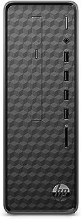 HP Slim Desktop, AMD Athlon Gold 3150U, 8GB RAM, 256 GB SSD, Windows 10 (S01-aF0020, Black)