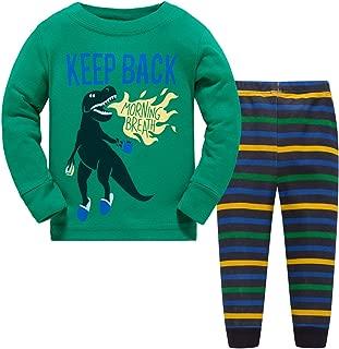 Papoopy Boys Dinosaur Pajamas Set 2-7 Years
