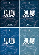 K-POP Monsta X - Follow-Find You, All Versions SET Album incl. CD, Photocard, Photobook, Lyrics Book, Mini Poster, Pre-Order Benefit, Folded Poster, Extra Photocards Set